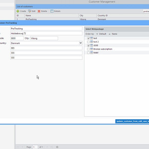 Screenshot Horizon Management
