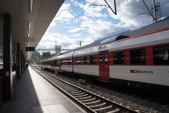SBB train in a station